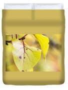 Vibrant Leaves Duvet Cover