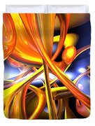 Vibrant Love Abstract Duvet Cover