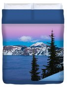 Vibrant Winter Sky Duvet Cover