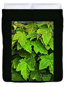 Vibrant Young Maples - Acer Duvet Cover