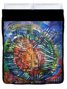Vibration Duvet Cover by Michael Kulick