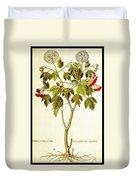 Viburnum Opulus Duvet Cover