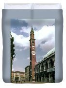 Vicenza Clock Tower Duvet Cover