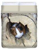 Vicious Animal Sleeping Duvet Cover