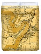 Vicksburg And Its Defenses Duvet Cover