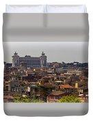 Victor Emmanuel Monument Duvet Cover