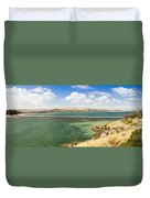 Victor Harbour Panorama Duvet Cover