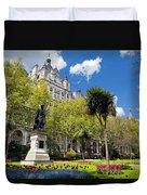 Victoria Embankment Gardens In London Uk Duvet Cover