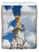Victoria Memorial Next To Buckingham Palace London Uk Duvet Cover