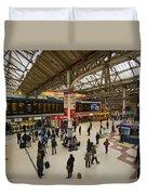 Victoria Railway Station London  Duvet Cover