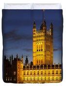 Victoria Tower - London Duvet Cover
