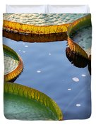 Victoria Waterlilies Duvet Cover