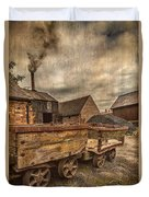 Victorian Colliery Duvet Cover by Adrian Evans