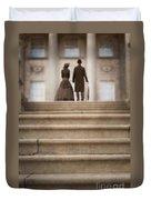 Victorian Couple Duvet Cover
