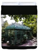 Victorian Greenhouse Duvet Cover
