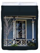 Victorian Home In Napa Valley Duvet Cover