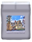 Victorian Homestead Duvet Cover