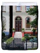 Victorian House Lafayette Sq St Louis Duvet Cover