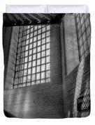 Victorian Jail Staircase V2 Duvet Cover