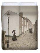 Victorian Life Duvet Cover