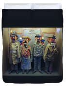 Victorian Musee Mecanique Automated Puppets - San Francisco Duvet Cover by Daniel Hagerman