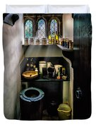 Victorian Pantry Duvet Cover by Adrian Evans