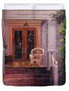 Victorian Rocking Chair Duvet Cover