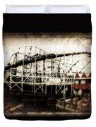 Victorian Roller Coaster Duvet Cover