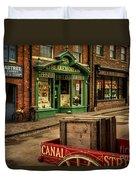 Victorian Town Duvet Cover