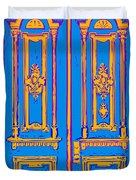 Victoriandoorpopart Duvet Cover