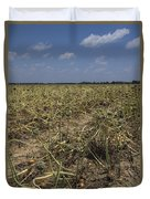 Vidalia Georgia Onion Fields Duvet Cover