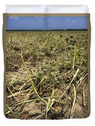 Vidalia Onion Seed Field - Georgia Duvet Cover