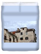 Vies Of Split Croatia Duvet Cover