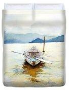 Vietnam Boat Duvet Cover