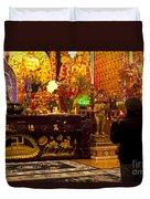 Vietnamese Temple Duvet Cover