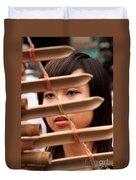 Vietnamese T'rung Player Duvet Cover