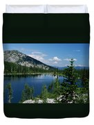 View At Roman Nose Peak Duvet Cover