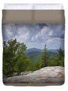 View From A Mountain In A Vermont Duvet Cover