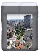 View From Edificio Martinelli 3 - Sao Pulo Duvet Cover