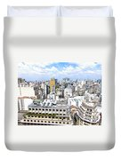 View From Edificio Martinelli - Sao Paulo Duvet Cover