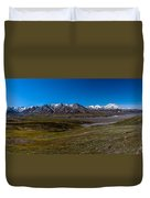 View From Eielson Duvet Cover