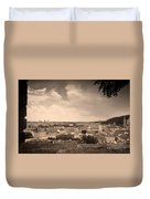 View From Hradcany Of Mala Strana Duvet Cover