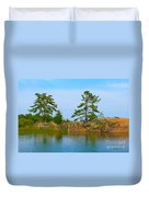 View From Killarney Mountain Lodge Duvet Cover