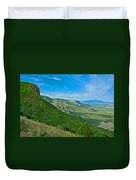 View From Knife Edge Road Overlooking Montezuma Valley In Mesa Verde National Park-colorado   Duvet Cover