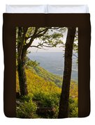 View From Lookout Mountain Duvet Cover