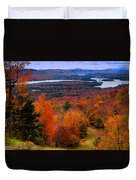 View From Mccauley Mountain II Duvet Cover by David Patterson