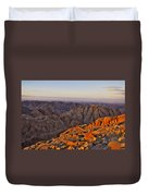 View From Mount Sinai Duvet Cover