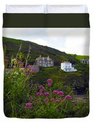 View From Port Isaac Duvet Cover