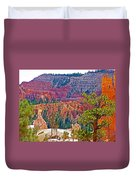 View From Queen's Garden Trail In Bryce Canyon National Park-utah Duvet Cover