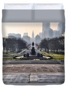 View From Rocky's Footsteps Duvet Cover